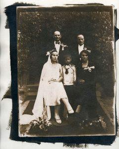 Nunta - Cianotipie